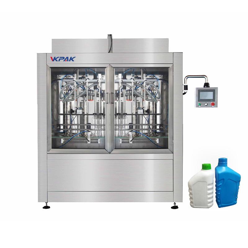 Automatikus palack- és folyadéktöltő gép