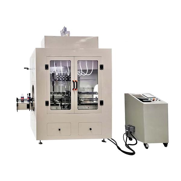 Lineáris típusú maró folyadéktöltő gép
