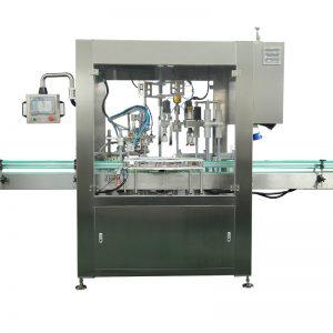 Automatikus cseppentő palack töltő és sapkás gép