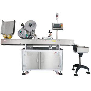 Nagy sebességű szervo vízszintes címkéző gép instabil termékekhez