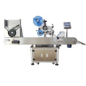 Vízszintes tekercselés az automatikus címkézőgép körül