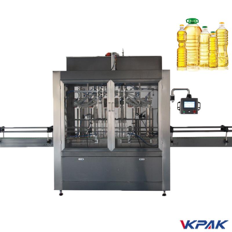 Dugattyús palackkitöltő gép